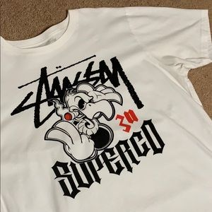 Men's Stussy Super Co. tee